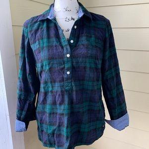 Tommy Hilfiger Plaid shirt - size Small